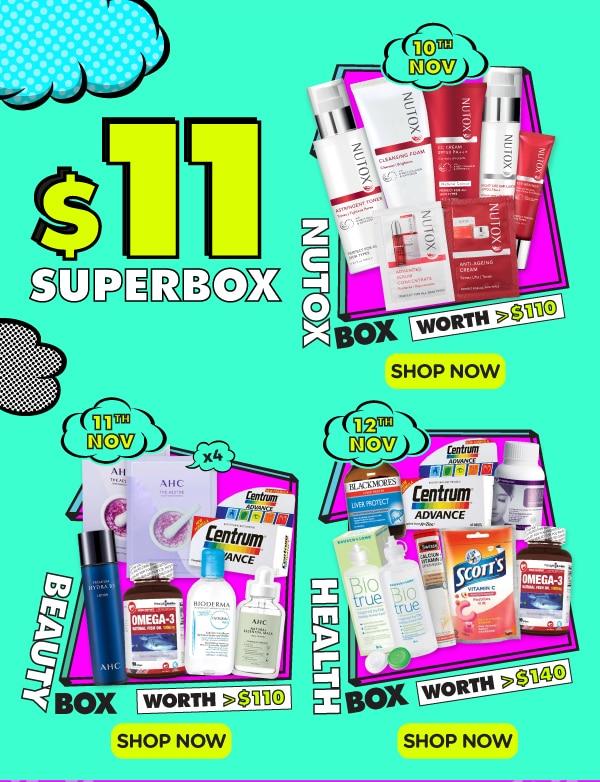 $11 Superbox