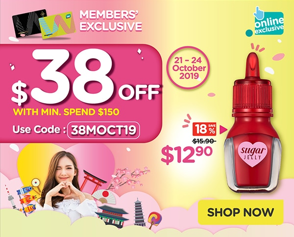 $38 Off with min. $150 spend!